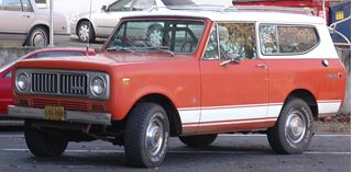 Picture of Early 70s Lower White Racing Stripe NOS, Scout, Scout II