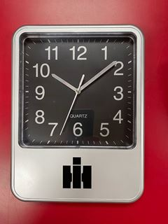 Picture of IH Clock Black/Silver