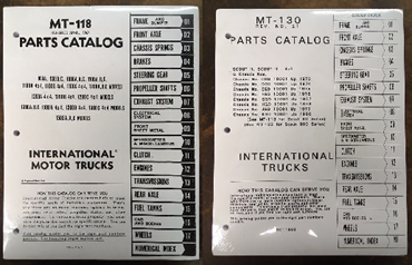 Picture for category Parts Manuals - Scout/Truck