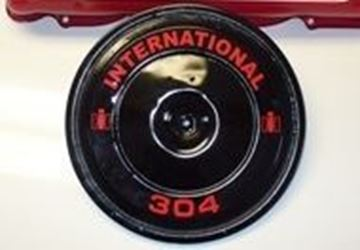 Picture of Custom IH Engine Air Cleaner Housing Decals! 196 304 345 392