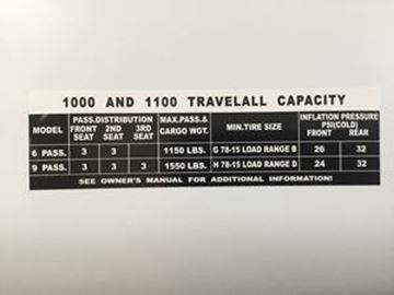 Picture of 1000 & 1100 Capacity Travelall