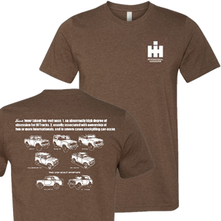 Picture of International Harvester Heather Brown Scout Fever Tee