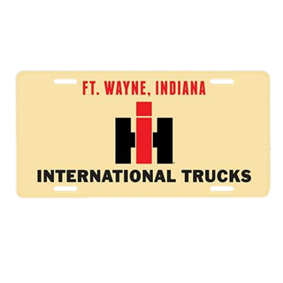 Picture of International Harvester Trucks Ft. Wayne License Plate